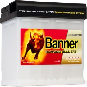 Banner 027 12v 60Ah 560CCA Stop/Start EFB Battery (560 00) (027 EFB) Banner Stop/Start