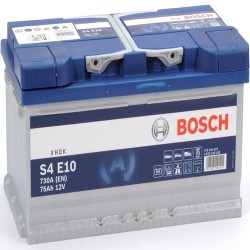 BOSCH 575500073 s4e10 611942 110 75Ah 730 CCA  efb Car Battery