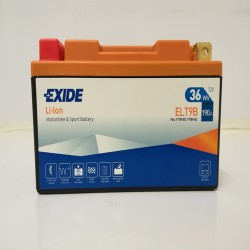 Exide ELT9B 12V 36Wh Lithium Motorcycle Battery