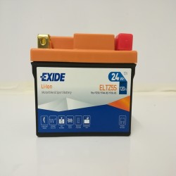 Exide ELTZ5S 12V 24Wh Lithium Motorcycle Battery