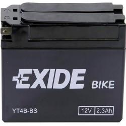 Exide ET4B-BS 12v 2.3Ah AGM Motorcycle Battery Exide Motorcycle