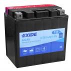 Exide ETX14AH-BS 12v 12Ah AGM Motorcycle Battery Exide Motorcycle