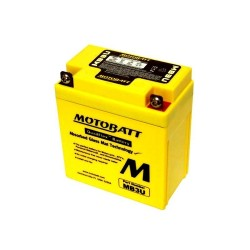 Motobatt MB3U 12V 3Ah Motorcycle Battery