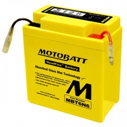 Motobatt MBT6N4 6V 4Ah Battery