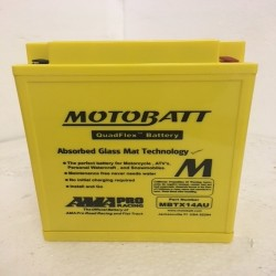 Motobatt MBTX14AU 12V 16Ah Motorcycle Battery