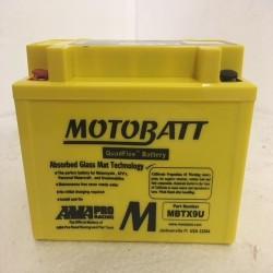 Motobatt MBTX9U 12V 10Ah Motorcycle Battery