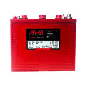 Rolls 6V 6-FS-280 Deep Cycle Battery Rolls Golf Buggy