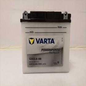 Varta 12N5.5-3B Funstart Wet Motorcycle Battery (506 011 004) (12N5.53B) 12V 6Ah Varta Funstart Wet