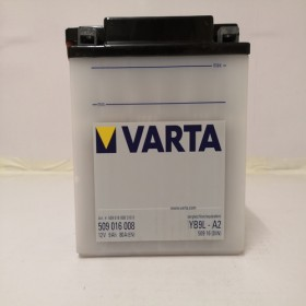 Varta YB9L-A2 Funstart Wet Motorcycle Battery (509 016 008) (YB9LA2) 12V 9Ah Varta Funstart Wet