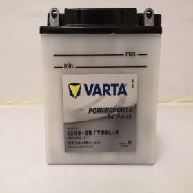 Varta YB9L-B Funstart Wet Motorcycle Battery (509 015 008) (YB9LB) (12N9-3B) 12V 9Ah Varta Funstart Wet
