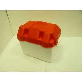 85Ah Red Trem Battery Box ( 24 Case Size) Battery Boxes