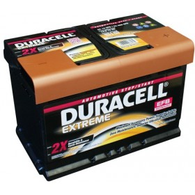 Duracell DE70 EFB Extreme Start - Stop Car Battery (096/E45)