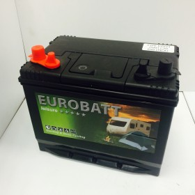 Eurobatt EXV23MF 12v 75Ah Dual Purpose Leisure / Marine Battery (069)  Eurobatt Leisure