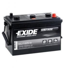 Exide EU165-6 Vintage (531) & CTEK XC 0.8 Battery Charger (XC0.8) Classic Specials