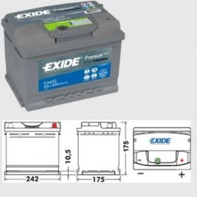 Exide EA602 Premium (075)