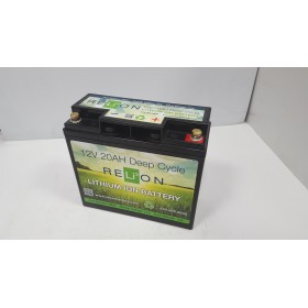 Relion Lithium RB20DP 12v 20Ah Lithium Battery