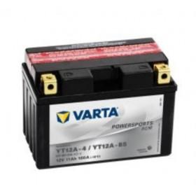 Varta YT12A-BS Funstart AGM Motorcycle Battery (511 901 014) (YT12ABS) 12V 11Ah Varta Funstart AGM