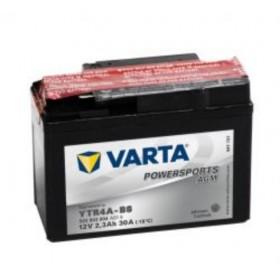 Varta YT4A-BS Funstart AGM Motorcycle Battery (503 903 004) (YT4ABS) 12V 3Ah Varta Funstart AGM