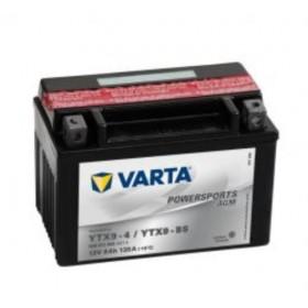 Varta YTX9-BS Funstart AGM Motorcycle Battery (508 012 008) (YTX9BS) 12V 8Ah Varta Funstart AGM