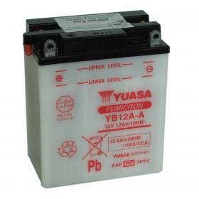 Yuasa YB12AA 12V 12Ah Motorcycle Battery (YB12A-A)
