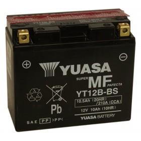 Yuasa YT12B-BS 12V 10.5Ah AGM Motorcycle Battery