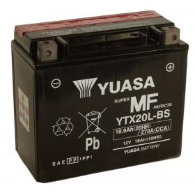Yuasa YTX20L-BS 12v 18.9AQh AGM Motorcycle Battery
